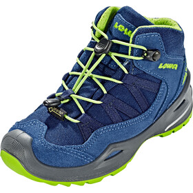 Lowa Robin GTX QC Shoes Kids blue/lime